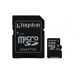Kingston Technology Canvas Select mémoire flash 64 Go MicroSDXC Classe 10 UHS-I