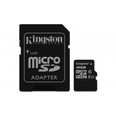 Kingston Technology Canvas Select mémoire flash 16 Go MicroSDHC Classe 10 UHS-I